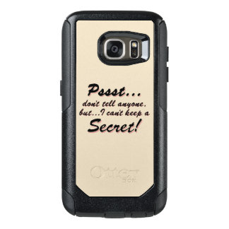 Pssst...I can't keep a SECRET (blk) OtterBox Samsung Galaxy S7 Case