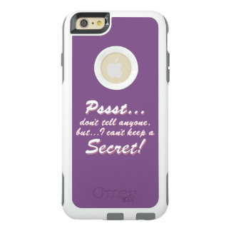 Pssst...I can't keep a SECRET (wht) OtterBox iPhone 6/6s Plus Case