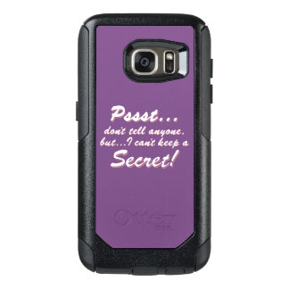Pssst...I can't keep a SECRET (wht) OtterBox Samsung Galaxy S7 Case