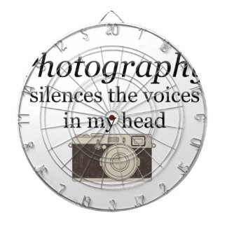 pstvimhPhotography silences the voices in my head Dartboard