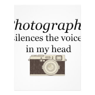 pstvimhPhotography silences the voices in my head Letterhead
