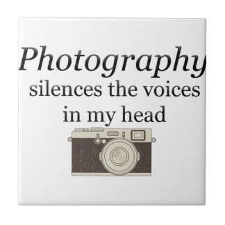pstvimhPhotography silences the voices in my head Tiles