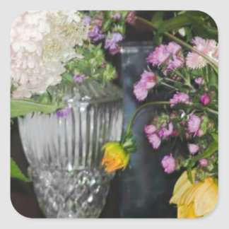 PSX_20161220_203716 Flowers Square Sticker