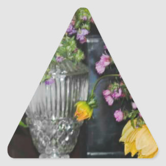 PSX_20161220_203716 Flowers Triangle Sticker