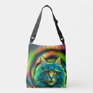"""Psy Cat"" carrying bag"