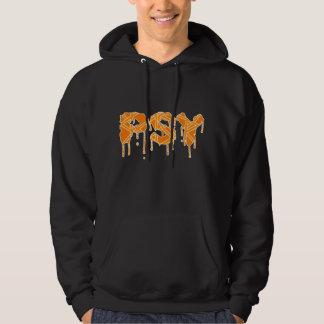 Psy logo orange hoodie
