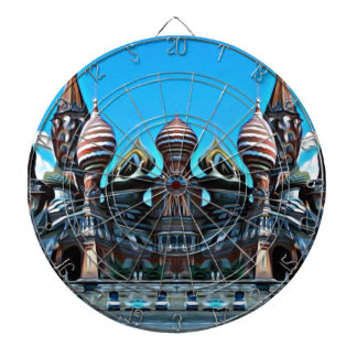 Psycgedelic Moscow Dartboard