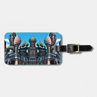 Psycgedelic Moscow Luggage Tag