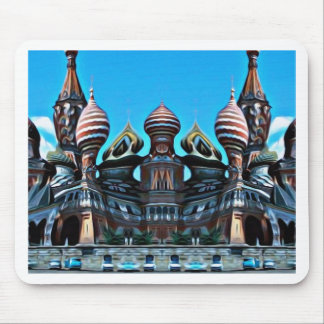 Psycgedelic Moscow Mouse Pad