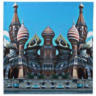 Psycgedelic Moscow Napkin
