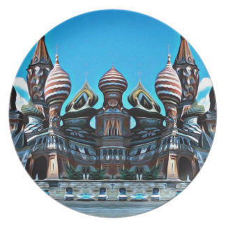 Psycgedelic Moscow Plate