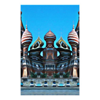 Psycgedelic Moscow Stationery
