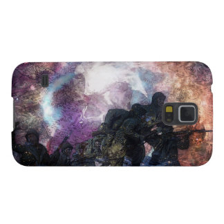 Psychеdеlic Marching, Military Soldiers Galaxy S5 Cover