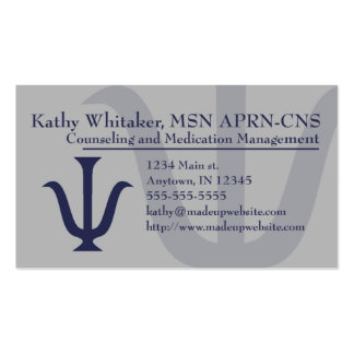 Psych Business Card