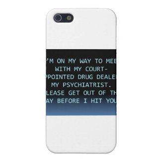 PSYCH DRUG DEALER iPhone 5/5S CASE