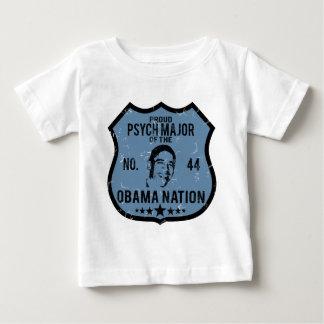 Psych Major Obama Nation Baby T-Shirt