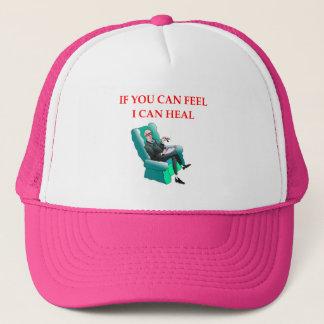 psych trucker hat