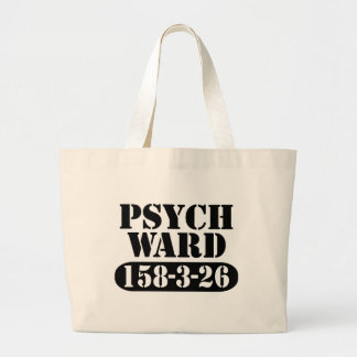 Psych Ward Halloween Trick-or-treat Large Tote Bag