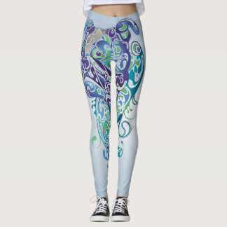 Psychadelic Bull Dog - Women's Pants