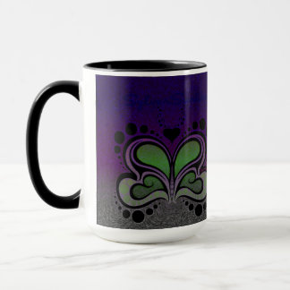Psychadelic Butterfly Tea Cup