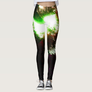 Psychadelic Eagle Leggings in Trance