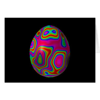Psychadelic Egg 5 Card