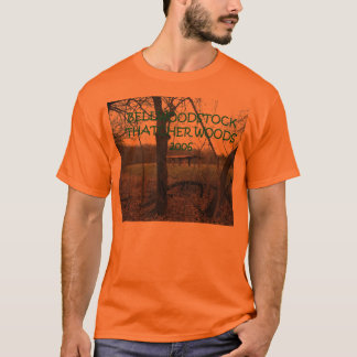 Psychadelic Orange T T-Shirt