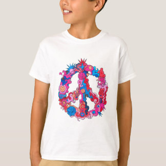 Psychdeclic Peace Symbol T-Shirt