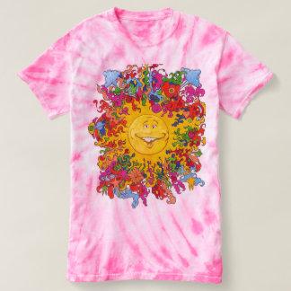 Psychdelic Happy Sun Tee Shirt