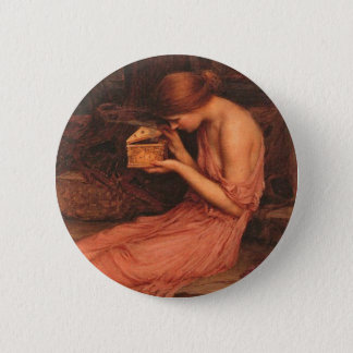 Psyche and Golden Box 2 Inch Round Button