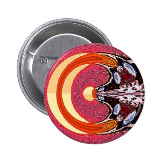 Psychedelic 2 Inch Round Button