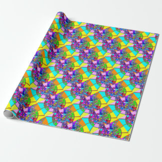 Psychedelic #2 wrapping paper