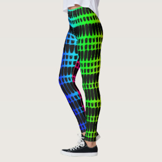Psychedelic 4 Colours Leggings