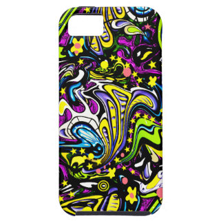 Psychedelic 60s Abstract Art iPhone 5 Cases