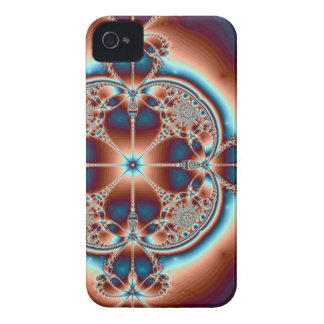 Psychedelic 7 Hearts ~ iPhone 4 Case
