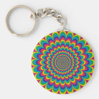 psychedelic #7 keychain