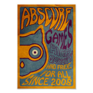 Psychedelic Abscure Poster