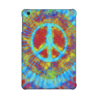 Psychedelic Abstract Art Peace Sign iPad Mini Cases