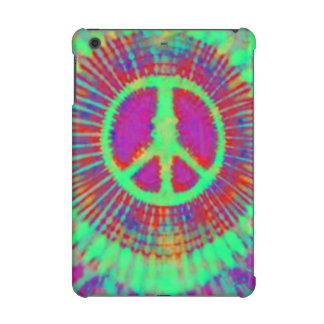 Psychedelic Abstract Art Peace Sign iPad Mini Cover