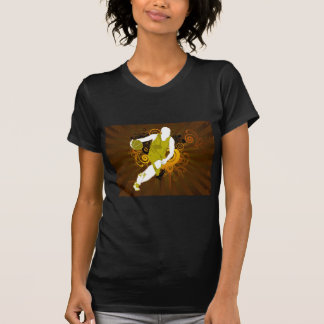 psychedelic abstract basketball tees