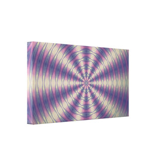 Psychedelic abstract Design Canvas Print