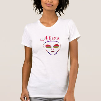 Psychedelic Alien Women's Tshirt