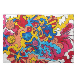 Psychedelic America Placemat