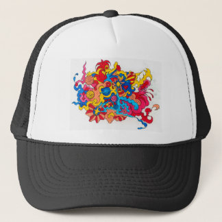 Psychedelic America Trucker Hat