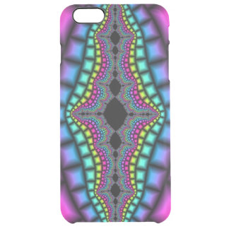 Psychedelic and Trippy Clear iPhone 6 Plus Case