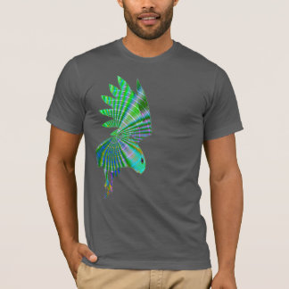 Psychedelic art eagle hawk swooping t-shirt design