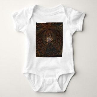 Psychedelic Atom Baby Bodysuit