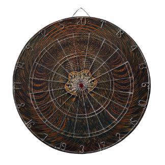 Psychedelic Atom Dart Boards