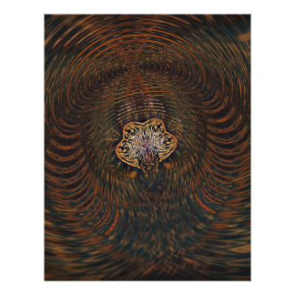 Psychedelic Atom Letterhead