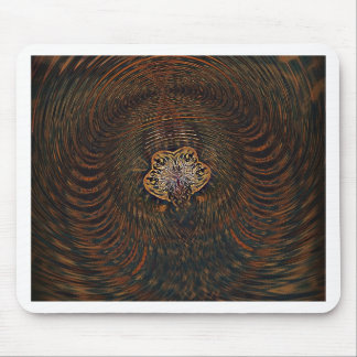 Psychedelic Atom Mouse Pad